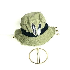 Gymboree Olive Green Surfboard Bucket Hat 8 and Up